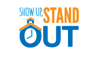 Show Up, Stand Out Logo